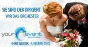 """Hochzeit DJ's und Event DJ's """"Book with a star"""""""