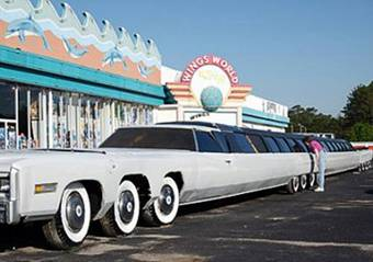 USA Stretch-Limousine mit Pool