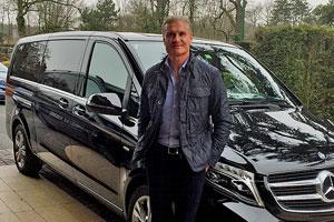 David Coulthard fährt mit Business Limousinen Schweiz mit Kiwi Limousine Ltd.