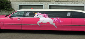 einhorn Limousine mieten