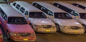 Pink-Limousine mieten