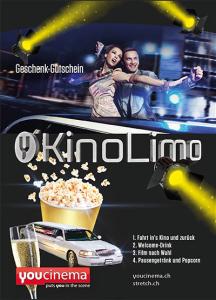 Gutschein Kino-Limo