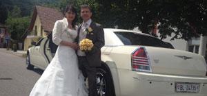 Hochzeitslimousine mieten