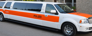 Polizei Stretch-Limousine