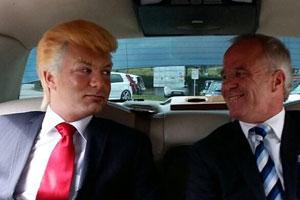donald Trump Schweiz