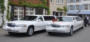 2 Hochzeitslimousinen mieten
