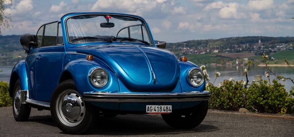 VW Käfer mieten Luzern