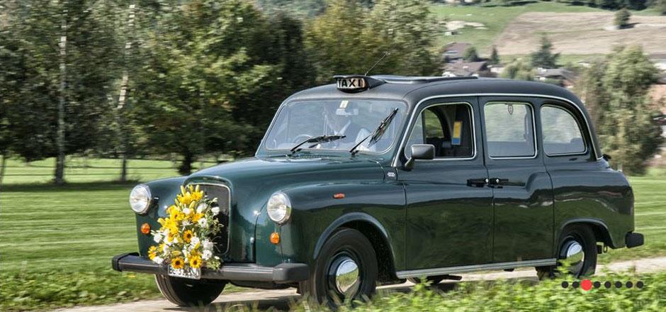 London Taxi ab Bern mieten