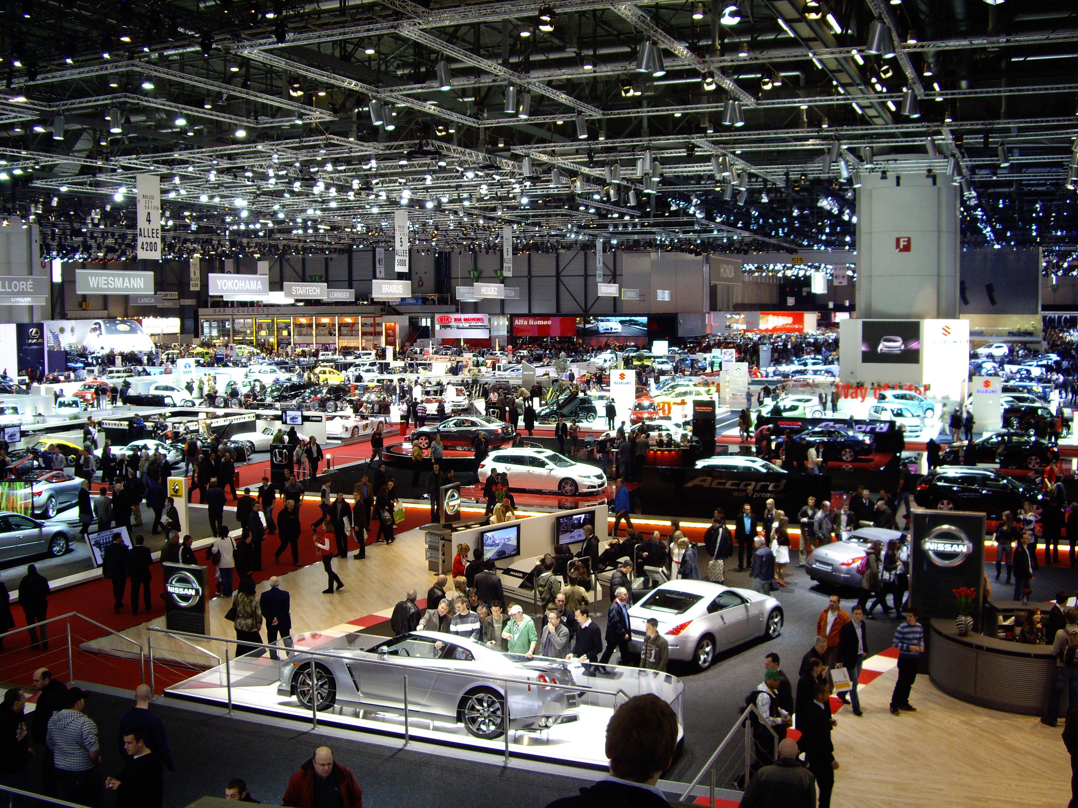 Auto Salon Genf 2015