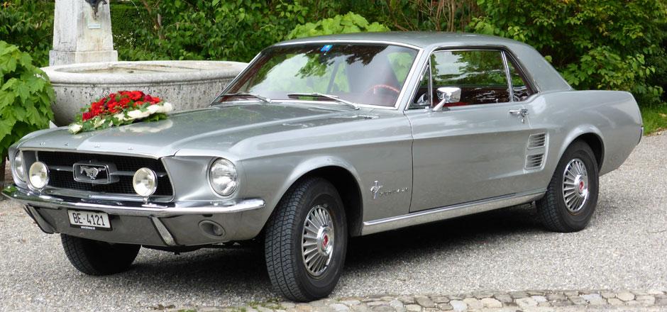 Ford Mustang Bern mieten