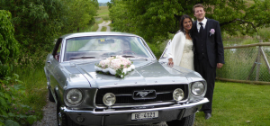 Hochzeit mit Ford Mustang