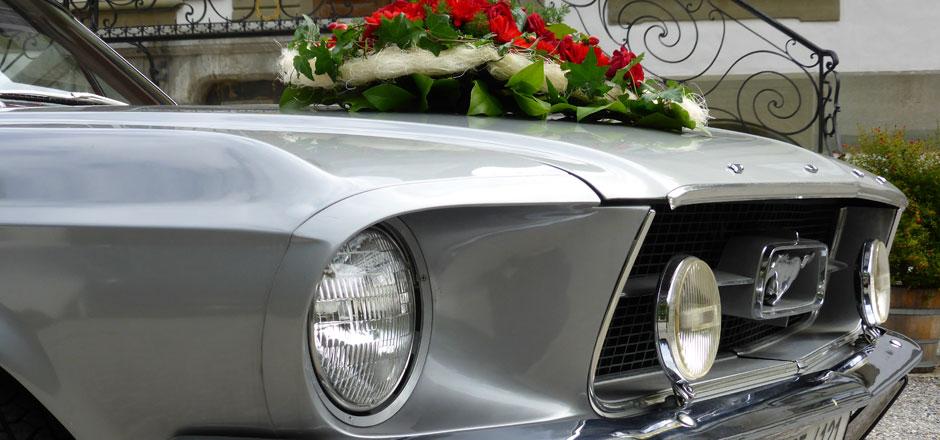 Ford Mustang mieten Bern