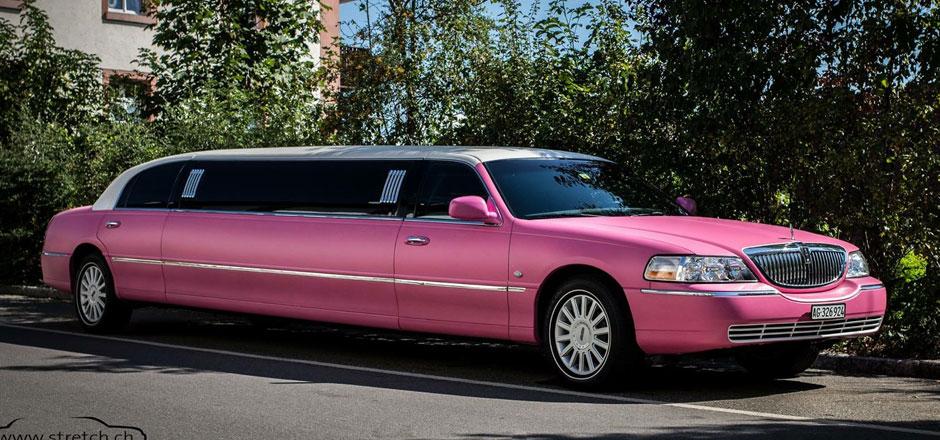 Pinklimousinen-mieten
