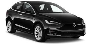 Tesla X mieten mit Chauffeur